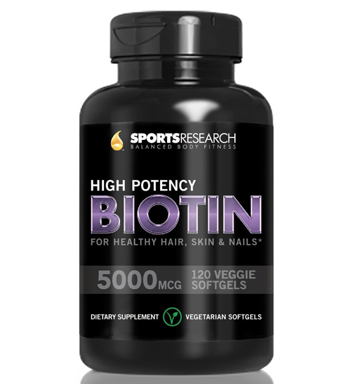 Biotin High Potency 5000mcg