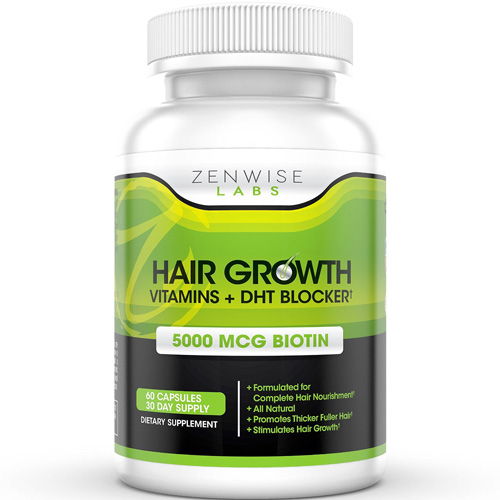 Hair Growth Vitamins Supplement