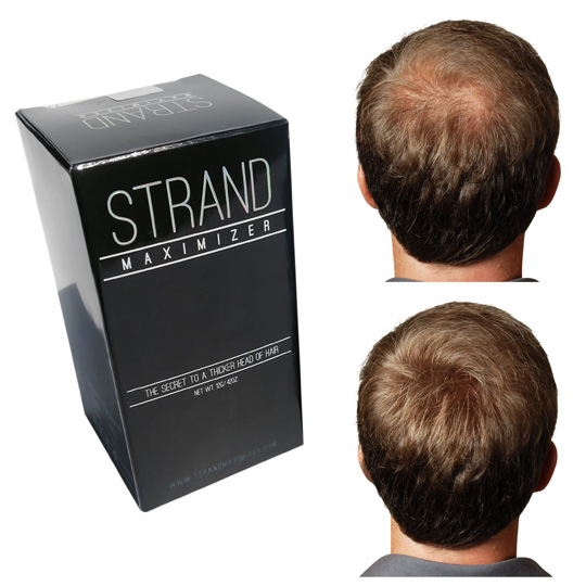 Strand Maximizer Hair Fibers review