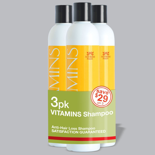 VITAMINS Hair Loss Shampoo - best hair loss shampoo