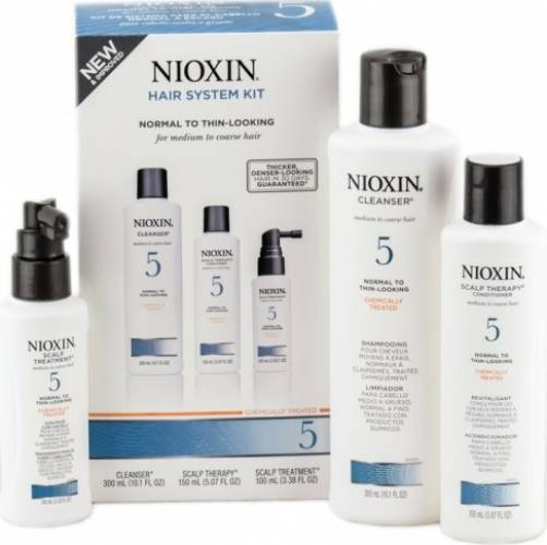 Set Nioxin System 5 Kit 150+150+50ml