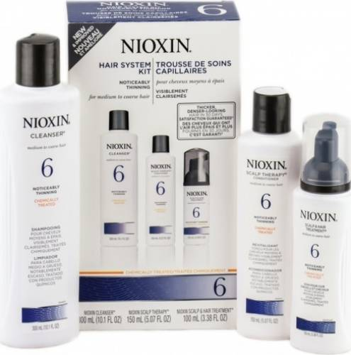 Set Nioxin System 6 Kit 150+150+40ml